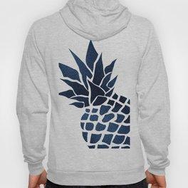 Pineapple, Big Blue, Denim Navy Hoody