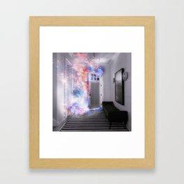 Door of the Galaxy Framed Art Print