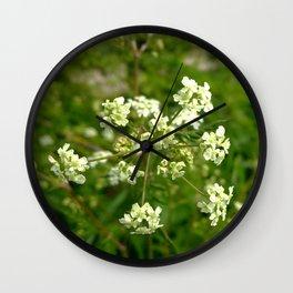 White Water Hemlock Wall Clock