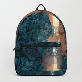 Surrounded by Flowers Backpack
