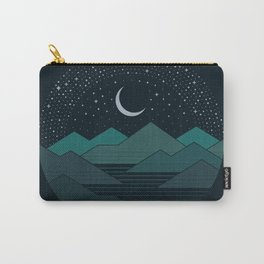 Between The Mountains And The Stars Carry-All Pouch