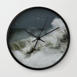 hokusai inspired Wall Clock
