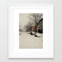 washington dc Framed Art Prints featuring washington, dc by Bearbeiten Photography