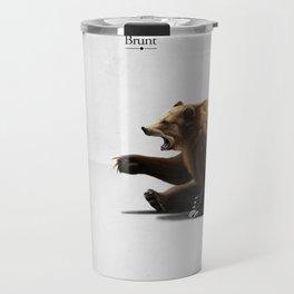 Brunt (wordless) Travel Mug