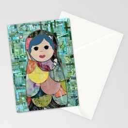 Matryoshka Nesting Dolls Stationery Cards