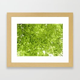 Leaves - JUSTART (c) Framed Art Print