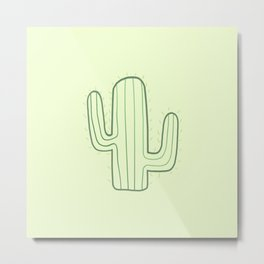 Two armed cactus Metal Print