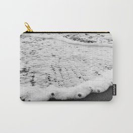 Rushing in - black white Carry-All Pouch