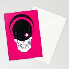 It judges you in Silence Stationery Cards
