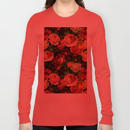 Vintage & Shabby chic - floral roses flowers rose Long Sleeve T-shirt