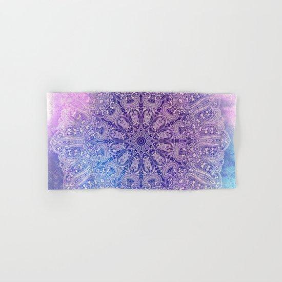 big paisley mandala in light purple by mpzstudio