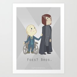 Foes or Bros? Art Print