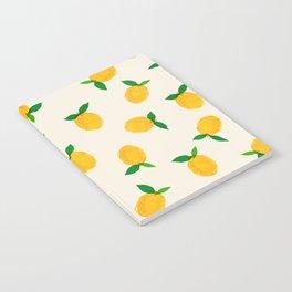 Lemon_Yellow_Pattern_01 Notebook