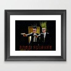 PUNK FICTION V3 - 022 Framed Art Print