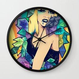 L-a-d-y-g-a-g-a Wall Clock