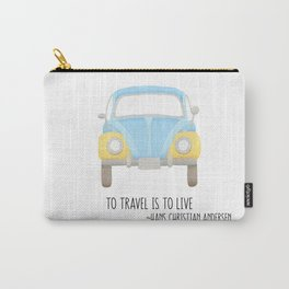 To Travel Is To Live Carry-All Pouch
