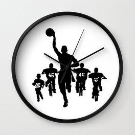 #thejumpmanseries, Boobie Miles Wall Clock