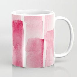 Pink  Watercolour Patterns | 190129 Abstract Art Watercolour Coffee Mug