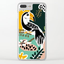 The Toucan Clear iPhone Case