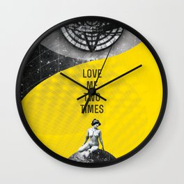 Love me two times (Rocking Love series) Wall Clock