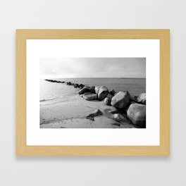 Insel Fehmarn Framed Art Print