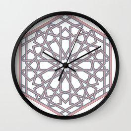 Hexarose Wall Clock