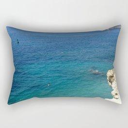Summer Seascape Rectangular Pillow