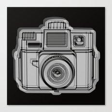 I Still Shoot Film Holga Logo - Black Canvas Print