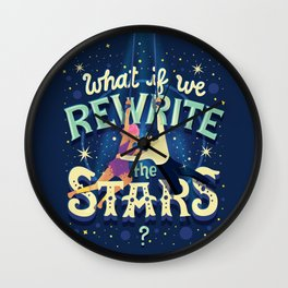 Rewrite the stars Wall Clock