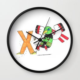 X if for Xatu Wall Clock
