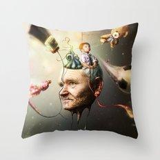 Mental Age Throw Pillow