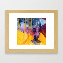 Kangaroo Dreams Framed Art Print