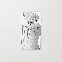 Sir Veillance Hand & Bath Towel