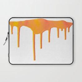 Orange Splatter Laptop Sleeve
