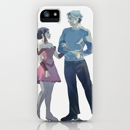 Ice Twins iPhone Case