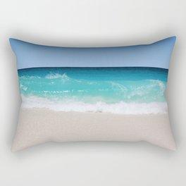 Aqua Vibes Rectangular Pillow
