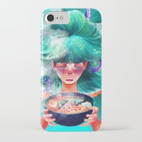 ramen iPhone & iPod Cases featuring Taste This Goddess Ramen by Maddy