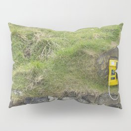 Phone in the Mountain Side Pillow Sham
