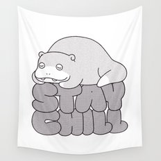 Stay Chill Wall Tapestry