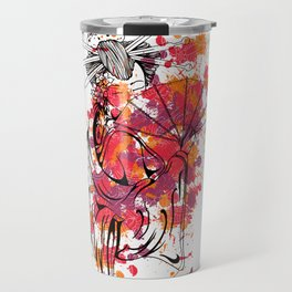 Secrets of the Geisha - Beautiful Chinese Girl Travel Mug