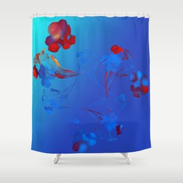Flower in the Mind Shower Curtain