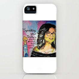 Speak your Truth: Oprah iPhone Case