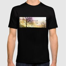 Unexplored Avenues by Debbie Porter SMALL Black Mens Fitted Tee