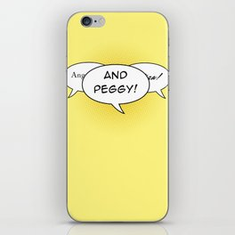 And Peggy! iPhone Skin