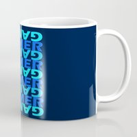 gamer Mugs featuring Gamer by Joynisha Sumpter