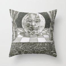 Moon Show Throw Pillow