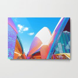 Technicolor opera Metal Print