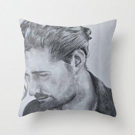 Andrew Hozier-Byrne Throw Pillow