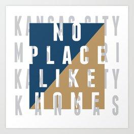 Big Bleu Design Kansas City Pride Art Print