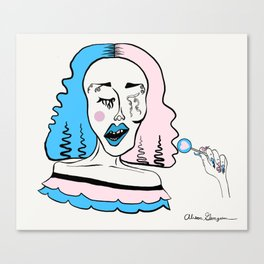cry baby canvas prints society6
